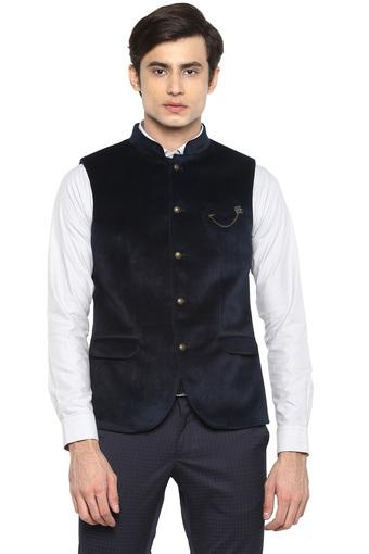 BLACKBERRYS -  Navy Ethnic Wear - Main