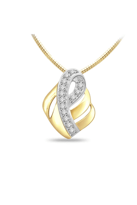 SPARKLESHis & Her Collection 92 Kt Diamond Pendants In 925 Sterling Silver Diamond HHP6220-92KT