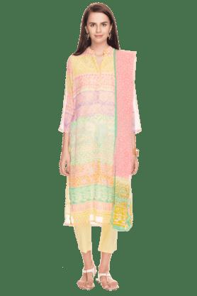 BIBAWomens Printed Churidar Suit - 200892172