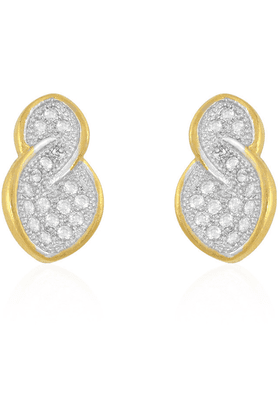 SIA Earring In Golden Colour Plating-16577