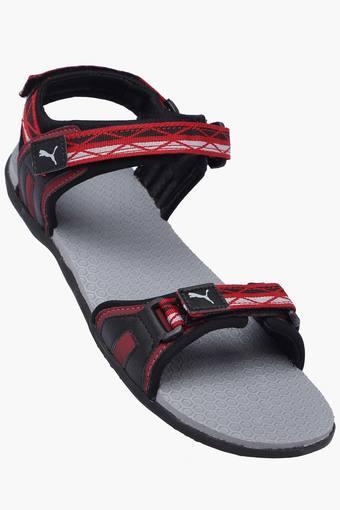 Unisex Synthetic Velcro Closure Sandals
