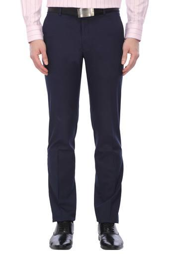 VAN HEUSEN -  Navy Cargos & Trousers - Main