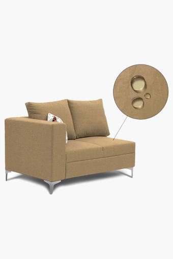 Light Ivory Water Repellent Fabric Sofa (Lounger)