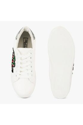 TRUFFLE COLLECTION - WhiteCasuals Shoes - 3