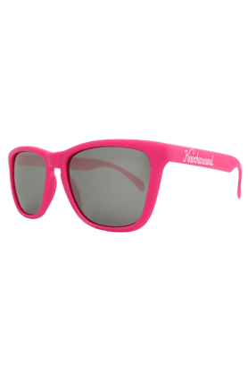 KNOCKAROUND Classic Premium Unisex Sunglasses Hot Pink/Smoke-PRGL1018 (Use Code FB20 To Get 20% Off On Purchase Of Rs.1800)