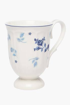 Cylindrical Floral Printed Novlesse Mug