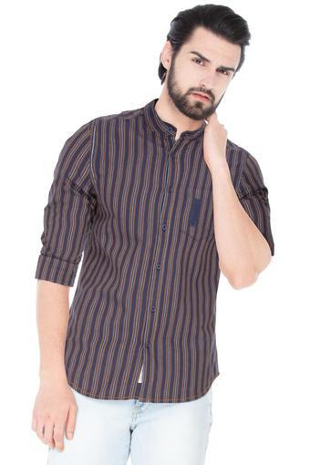 A086 -  Navy Casual Shirts - Main