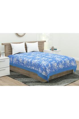 Floral Printed Single Bed Cover