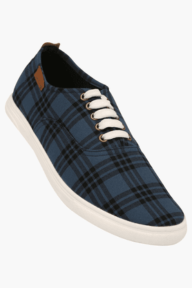 FRANCO LEONE Mens Lace Up Casual Shoe