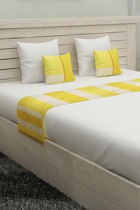 FERNStripe Bed Runner And Cushion Cover Set Of 3