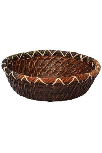 Buy Back To Earth Round Rattan Basket Small Shoppers Stop