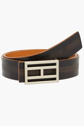 TOMMY HILFIGER Mens Casual Leather Belt