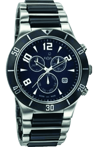 Mens Black Dial Watch NE9295DM02