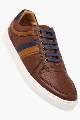 RUOSH Mens Leather Lace Up Casual Shoes - 202166686