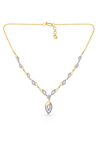 c636f4443 Buy MALABAR GOLD AND DIAMONDS Womens Mine Diamond Necklace ...