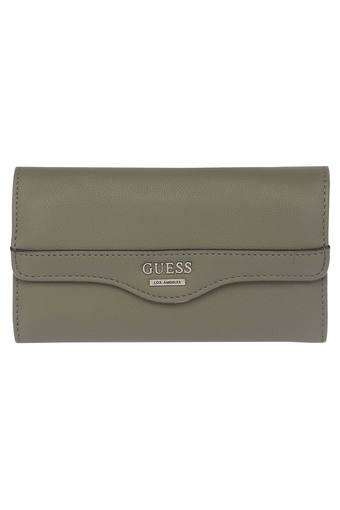 A867 -  Olive Wallets & Clutches - Main