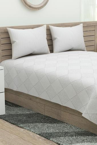 SPREAD -  Mixed NeutralsDouble Bed Sheets - Main