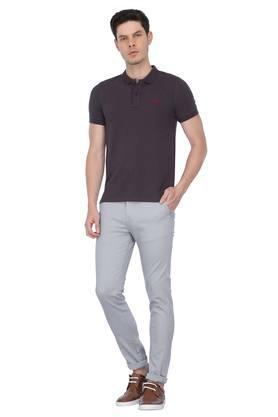 STOP - GreyFormal Trousers - 3