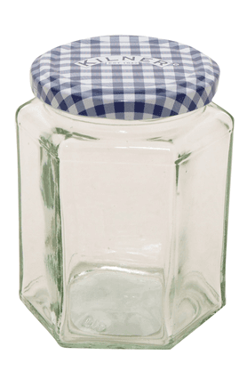KILNERHexagonal Twist Top Jar (280 Ml)