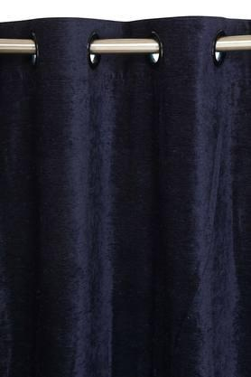 ARIANA - Royal Blue Door Curtains - 1