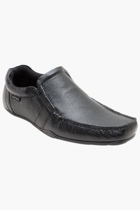 RED TAPE Mens Leather Slip On Formal Loafers  ...