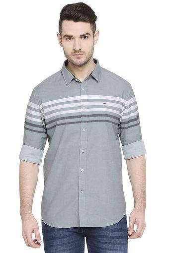 BASICS -  GreyCasual Shirts - Main