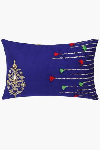 Embroidered Rectangular Cushion Cover