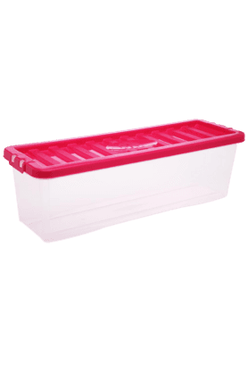 WHATMORE Crystal Shallow Shelf Box