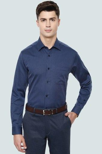 LOUIS PHILIPPE -  Navy Louis Philippe Shop for 5749 Get 750 Off   Shop for 7999 Get 1000 Off - Main