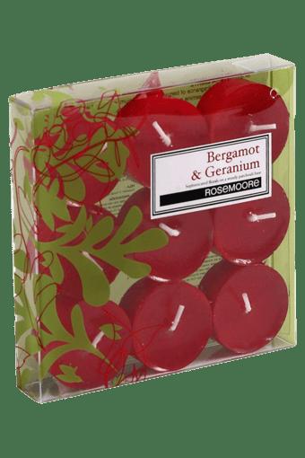 Tea Lights Bergamot & Geranium