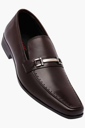 VENTURINI Mens Leather Slipon Loafers - 202109243