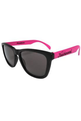 KNOCKAROUND Classic Premium Throwback Unisex Sunglasses Pink/Black-PRTH1004 (Use Code FB20 To Get 20% Off On Purchase Of Rs.1800)