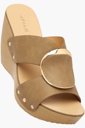 CATWALKWomens Casual Slipon Wedge Sandals (Buy 2 Get Flat 33% On Lower MRP) - 201592815