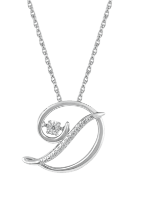 TARA JEWELLERSWomen Sterling Silver Diamond Pendant