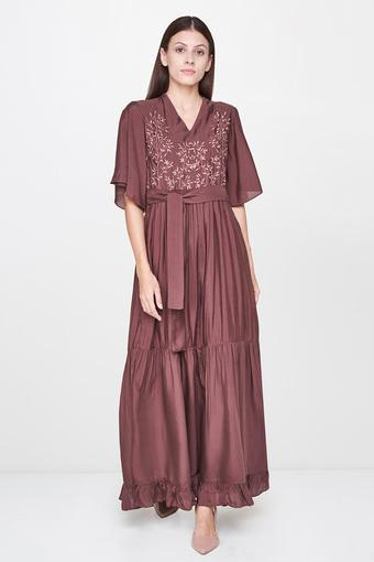 AND -  Brown Dresses - Main