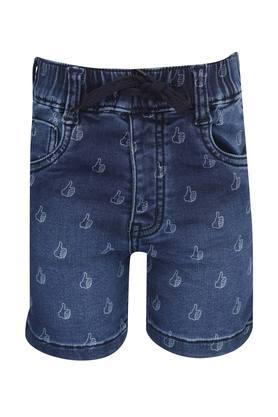 Boys 5 Pocket Printed Shorts