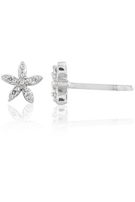 SPARKLES His & Her Collection 9 Kt His & Her Diamond Earrings In Gold And Real Diamond - 0.04 Cts HHT7828-9KT