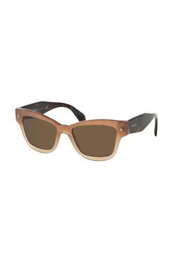 Womens Wayfarer UV Protected Sunglasses - PR29RS UBI8C1