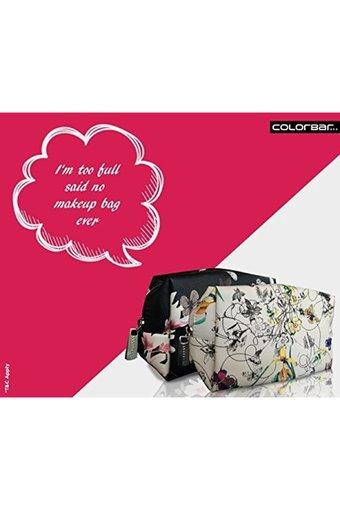 COLORBAR Womens Zip Closure Cosmetic Pouch