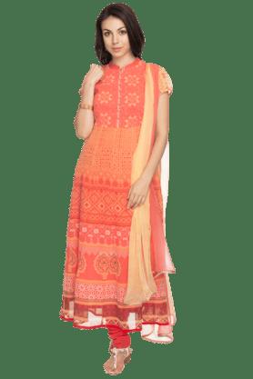 BIBAWomens Printed Salwar, Kurta And Dupatta Set - 200737273