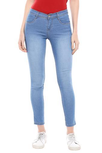 KRAUS -  Mid BlueJeans & Leggings - Main