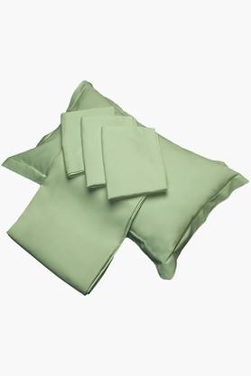 """FISHER WEST NYCeladon Green Solid Pillow Covers (Pillow Cover 18"""" X 27"""" (2 Pcs)"""