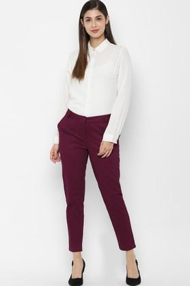 ALLEN SOLLY - Pink Trousers & Pants - 3