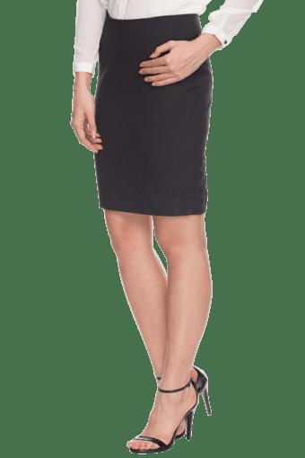 Women Knee Length Formal Skirt | Skirts | Westernwear | Women ...
