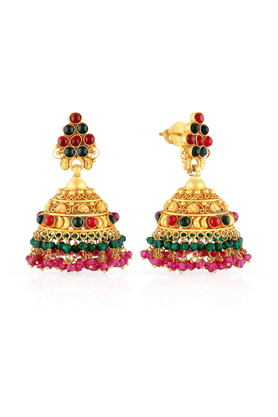 MALABAR GOLD AND DIAMONDS Womens Malabar Gold Earrings - 201593924