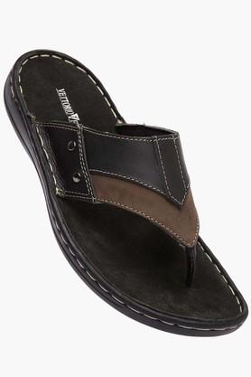 VETTORIO FRATINI Mens Leather Slipon Sandal