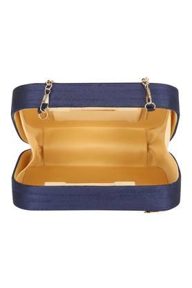 Womens Party Wear Magnetic Closure Sling Clutch
