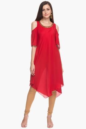 Womens Embellished Dress