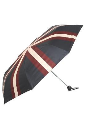 Unisex H2O Striped 3 Fold Umbrella