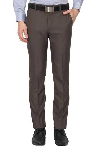 PARK AVENUE -  Dark Brown Cargos & Trousers - Main